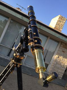 Moonraker Delta Pod and Classic Scope Restoration - Refractors - Cloudy Nights Fanfic Teen Wolf, Reflecting Telescope, 22 Pistol, Aesthetic Objects, Astronomical Observatory, Cloudy Nights, Space And Astronomy, Pretty Photos, Backyard Projects