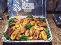fry plantains from jamaica side  dish i make for a friend party