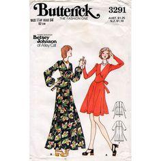 SALE 1970s Betsey Johnson Dress Pattern by BessieAndMaive on Etsy