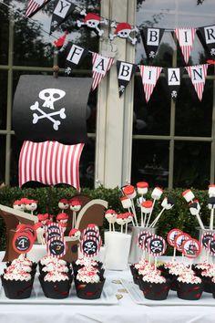 Mesa de dulces Fiesta de Piratas