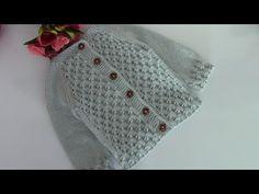 Kapadokya hırka, kuşak modelli bebek hırkası ayrıntılı anlatım - YouTube Baby Knitting Patterns, Hand Knitting, Knitted Baby Clothes, Crochet Hats, Sewing, Youtube, Fashion, Needle Points, Sweater Vests