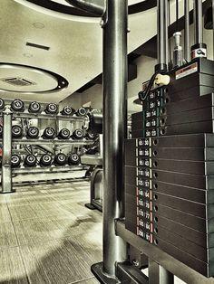 Strength Room #livingroomhealth Health Fitness, Strength, Gym, Club, Living Room, Home Living Room, Excercise, Drawing Room, Lounge