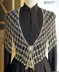 nice lacy shawlette with diagram