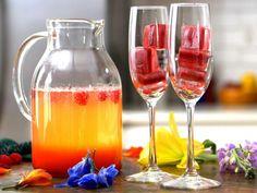 Raspberry Sunrise Mimosa Recipe | Food Network Kitchen | Food Network