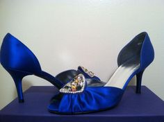 Stuart Weitzman Princess Women's Evening High Heels Pumps 7.5 M Royal Blue Satin Formal Shoes. Get the must-have formal shoes of this season! These Stuart Weitzman Princess Women's Evening High Heels Pumps 7.5 M Royal Blue Satin Formal Shoes are a top 10 member favorite on Tradesy. Save on yours before they're sold out!