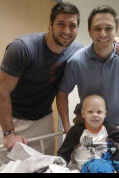 "jrue hewitt - ""My baby cousin with leukemia just met Tim Tebow"" (November 1, 2012)"
