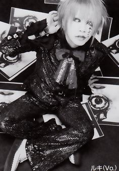 Young little Takanori/Ruki Matsumoto, the GazettE. I loved his outfits back then. I love his outfits today, but I really love his old ones. (≧ω≦)