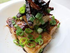 C.A.K.E.: 蠔油蝦醬燒豆腐 Tofu with oyster sauce 5/15/13