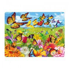 Vlinders 3D briefkaart