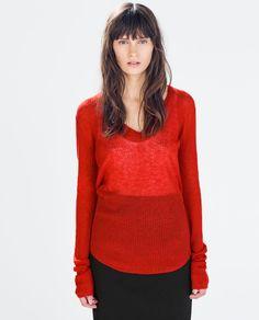 Image 2 de PULL ULTRA-FIN de Zara