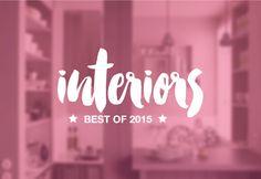 Best of 2015 : Interior sur @Decocrush - www.decocrush.fr   Blog déco : Idées déco et inspirations maison