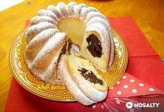 Csokoládékrémmel töltött kuglóf My Recipes, Cookie Recipes, Favorite Recipes, Bread Dough Recipe, Ring Cake, Savarin, Pound Cake, Croissant, Scones