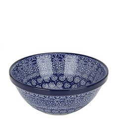 Harrods, designer clothing, luxury gifts and fashion accessories Serveware, Tableware, Blue Pottery, Polish Recipes, Pottery Making, Polish Pottery, Hand Painted Ceramics, Ceramic Plates, Handmade Pottery