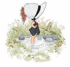 Holly Hobbie, wading pool