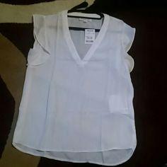 Blouse Nice cream work shirt Tops Blouses