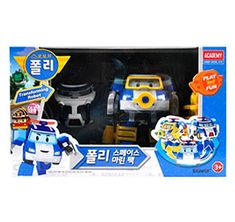 Academy Robocar POLI Space Marine Pack Transformer Robot Car Toy Action Figure /ITEM #fashionkid