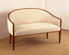 Jean-Michel Frank sofa in mahogany 1930 Art Deco Furniture, Furniture Making, Cool Furniture, Furniture Design, Modern Furniture, Art Nouveau, Jean Michel, Furniture Manufacturers, Victorian Homes