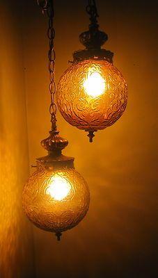 great swag lamp
