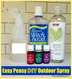 All Natural Homemade Outdoor Spray