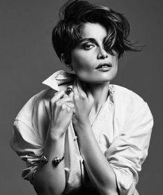 IMG Models - Laetitia Casta | Harper's Bazaar Spain August 2015