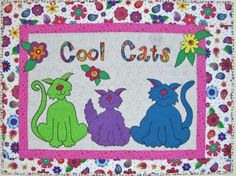 These Feline-Themed Quilts Are The Cat's Meow! - 24 Blocks