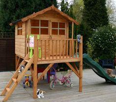 wooden toolplayhouse