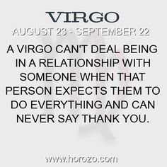Fact about Virgo: A Virgo can't deal being in a relationship with someone... #virgo, #virgofact, #zodiac. More info here: https://www.horozo.com/blog/a-virgo-cant-deal-being-in-a-relationship-with-someone/ Astrology dating site: https://www.horozo.com
