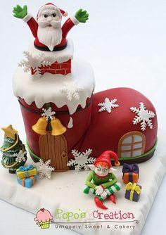 Torta navideña !!
