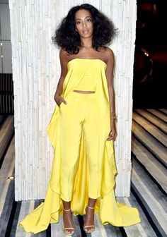 Solange Knowles made her first post-wedding appearance at Art Basel in Miami on Dec. 3�and she chose another cape for the occasion; see the photos