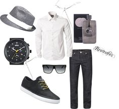 """""""Stylish Man...and he smells good! Holla!"""" by brownfox1 on Polyvore"""