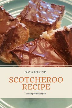 Scotcheroo Recipe