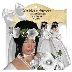 Sweet Bride 3 on Craftsuprint designed by Mishara Armenia - �Mishara Armenia Commercial and personal use ok / CU4CU. Don't resell them in their original form (as poser tubes). Don't claim my work as yours. These tubes can be resized and recolored. - Now available for download!
