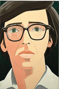my favourite painting in the world.   I love Alex Katz