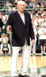 """(Feb. 19, 2006)   ATHENS, Ohio - KERMIT BLOSSER passed away on the evening of February 18, 2006, at the Hickory Creek Nursing Center in The Plains, Ohio. Ohio University's first national champion in any sport, Blosser had recently celebrated his 95th birthday.  Kermit, the son of a rail worker, was born on Feb. 1, 1911, and raised in Enterprise, Ohio. He showed up for Ohio University's freshman football practice in the fall of 1928 as a self-described """"little 175-pound neophyte from Logan…"""