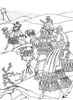 flight into egypt coloring pages - photo#23