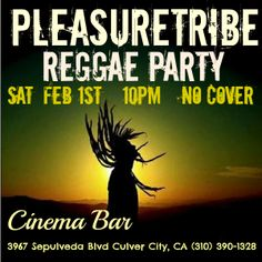 -Next Show: March 28, 2014 at the Cinema Bar.  More dancing, more Reggae and a whole lotta love.... Join the tribe - Feel the Vibe http://www.reverbnation.com/pleasuretribereggae