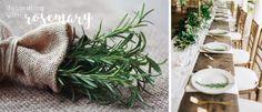 Come decorare la tavola con del semplice rosmarino. Table Settings, Plants, Outdoor, Outdoors, Place Settings, Plant, Outdoor Games, The Great Outdoors, Planets