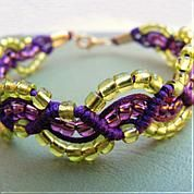 Braided Bead Bracelet Tutorial - Braid Bracelets with Beads and Cords