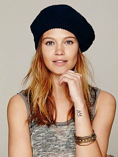 Free People Marled Beret