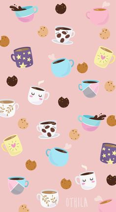 iphone wallpaper coffee Coffee and cookies wallpaper / coffee and cookies wallpaper Food Wallpaper, Cute Disney Wallpaper, Kawaii Wallpaper, Flower Wallpaper, Screen Wallpaper, Pattern Wallpaper, Cute Wallpaper Backgrounds, Wallpaper Iphone Cute, Pretty Wallpapers