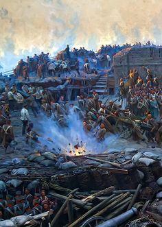 Крымская война..  Оборона Севастополя.