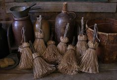 primitive brooms