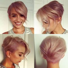 Rose Hairstyles For #shorthair - 13