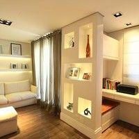 Faça nichos em gesso para dar um charme extra na casa
