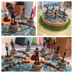 Catching fire cake