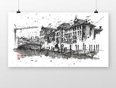 canale grande venezia by coffeeAFTEReight on Etsy Grand Canal, Etsy