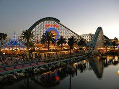 California Screamin' over in Disney California Adventure (Subcategory: rides I will never, ever go on)