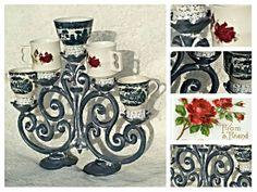 Originele meubels en woonaccessoires in landelijk brocante, shabby chic romantic style www.bontevink.nl 100% restyling met passie