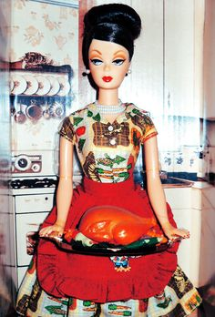 Thanksgiving Feast Barbie (it's not vintage- she came out in 2010)