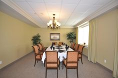Nursing Homes, Retirement, Dining Room, Living Room